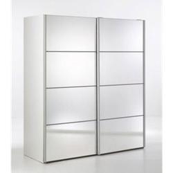 Kleiderschrank Veto 2 Türen Spiegelschrank Schrank Drehtürenschrank weiss