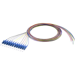 Renkforce RF-3909392 LWL-Pigtail 12-farbig