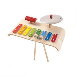 PlanToys Musikinstrumente für Kinder aus Holz (Schlagzeug, Drums, Xylophone, ...