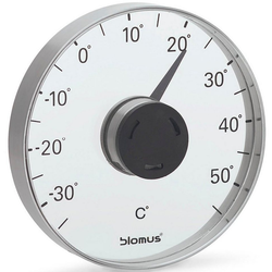 BLOMUS Fensterthermometer Fensterthermometer -GRADO- mit Celsius Skala
