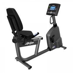 Life Fitness Liegeergometer RS1 Go deutsche Konsole