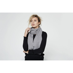 HoodLamb Scarf light grey