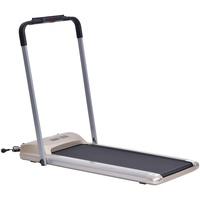 Homcom Laufband mit LCD Display, Faltbares Fitnessgerät, Heimtrainer Hometrainer Ausdauertraining