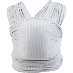 Tragetuch Aura Wrap - Grey Stripes grau