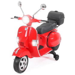 Actionbikes Motors Elektro-Kinderroller Kinder Elektroroller Piaggio Vespa PX150, Belastbarkeit 35 kg, Roller - Motorrad - bis 35kg belastbar rot