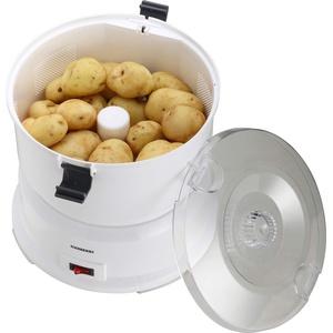 Melissa 646120 Kartoffelschälmaschine, 1kg, elektrischer Kartoffelschäler, Kartoffel, Schälmaschine, Kunststoff