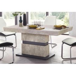Homexperts Säulen-Esstisch Marley, Breite 140 oder 160 cm 140 cm x 75 cm x 90 cm