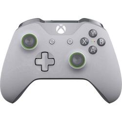Microsoft Wireless Grey & Green Gamepad Xbox One, PC Grau, Grün