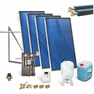 Solaranlage komplett Solarpaket Solarthermie Warmwasser, Solar 2,51-12,55m2