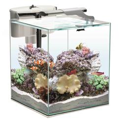 AQUAEL Aquarium Set NANO REEF DUO 49L weiß Salzwasser Meerwasserkomplettset