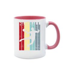 Shirtracer Tasse Handballer Vintage - Handball - Tasse zweifarbig - Tassen, handball tasse
