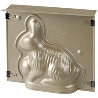 Dr. Oetker Backform Vollbackform Hase Goldene Ostern, 500ml,, Stahlblech mit Antihaftbeschichtung