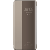 Huawei Smart View Flip Cover für Huawei P30 Pro khaki