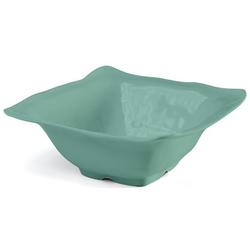 Q Squared NYC Dipschale Ruffle Square Collection, 5,9x5,9 cm grün Geschirr Porzellan Haushalt