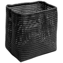Möve Drahtkorb TUBE, aus Metall mit Kunststoffmantel schwarz Körbe Aufbewahrung Ordnung Wohnaccessoires