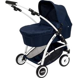 BRIO® Puppenwagen Puppenwagen Spin blau mit Schwenkrädern