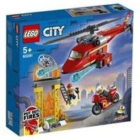 Lego City Feuerwehrhubschrauber 60281
