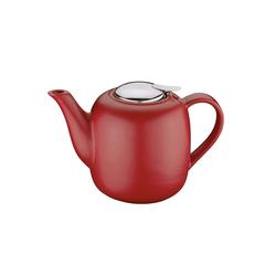 Neuetischkultur Teekanne Teekanne LONDON, Teekanne rot