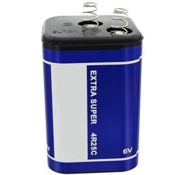 4R25, 430 Blockbatterie, Typ 4R25C Batterie, Lampenbatterie 6 Volt 9500mAh