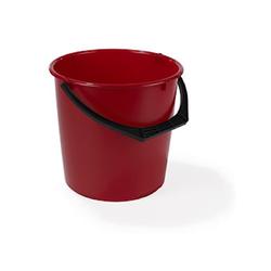 Nordiska Plast Plastikeimer 10 L Rot