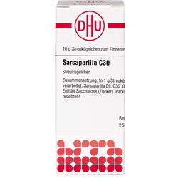 SARSAPARILLA C 30 Globuli 10 g