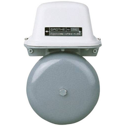 Grothe 22512 Klingel 12V (max) 105 dBA Grau, Weiß