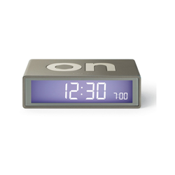 Lexon Flip LCD Wecker Reisewecker Modell LR130 Bronze