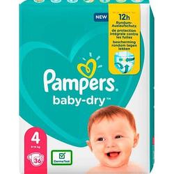 Pampers® Windeln baby-dry™ Größe Gr.4 (9-14 kg) für Babys und Kleinkinder