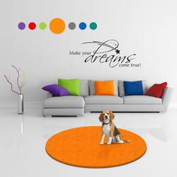 MATDOX Pet Isofloor SX rund orange