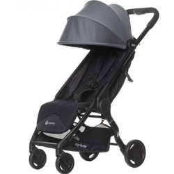 Ergobaby Kinder-Buggy Buggy Metro Compact City Stroller - Black grau