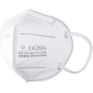 40 Stück - denkturm® FFP2 Maske, Atemschutzmaske, CE Zertifikat CE2834, geprüft EN149:2001+A1:2009 FFP2 NR