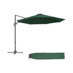 Sonnenschirm Ampelschirm Ø 300cm - Ampelschirm, Sonnenschutz, Gartenschirm - grün
