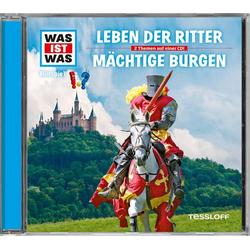 WAS IST WAS Hörspiel-CD: Leben der Ritter/ Mächtige Burgen
