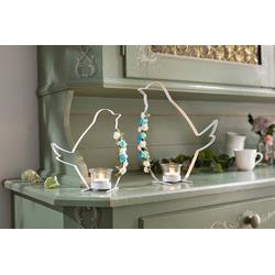 HomeLiving Kerzenhalter Vogel