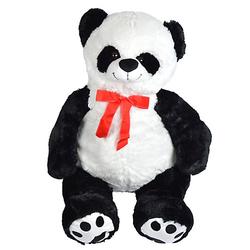 Riesen Teddy Pan Tao - 100 cm schwarz/weiß