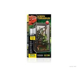 Exo Terra - Gaze-Terrarium aus Aluminium, 45x45x90 cm