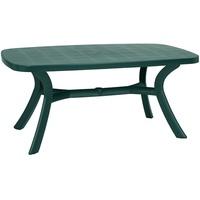 BEST Freizeitmöbel Kansas Gartentisch 192 x 105 x 72 cm grün oval