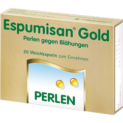 ESPUMISAN Gold Perlen gegen Blähungen 20 St