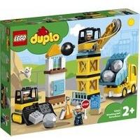 Lego Duplo Baustelle mit Abrissbirne 10932