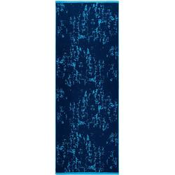 Egeria Saunatuch Rio (1-St), mit Muster blau