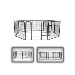 zoomundo Hundekäfig Welpenauslauf / Freilaufgehege 8-Eck - M