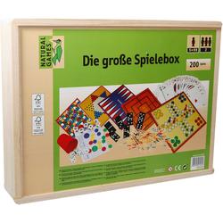 Natural Games Spielesammlung, Holz-Spielesammlung