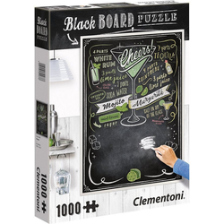 Clementoni® Puzzle Puzzle 1000 Teile - Black Board Cheers, Puzzleteile