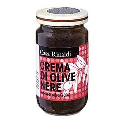 (23.83 EUR/kg) Casa Rinaldi Crema di Olive Nere 180 g   - 180 g