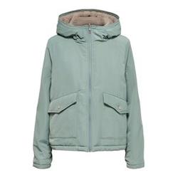 ONLY Kurze Jacke Damen Grün Female L