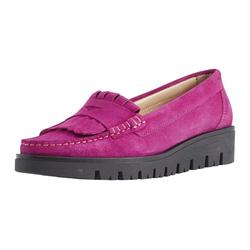 Slipper mit Penny-Loafer-Element rosa 38
