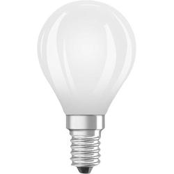 OSRAM LED EEK A++ (A++ - E) E14 Tropfenform 7.00W = 60W Kaltweiß (Ø x L) 45mm x 45mm 1St.