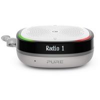 Pure StreamR Splash Sprachgesteuerter Lautsprecher FM Radio, Outdoor, Wasserfest, WLAN Grau