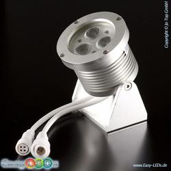 LED Aufbaustrahler 3x3 Watt LED RGB IP65