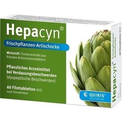 HEPACYN Frischpflanzen Artischocke Filmtabletten 120 St.